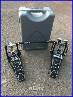 Tama Iron Cobra DOUBLE BASS Bass Drum Pedal with CASE EXCELLENT