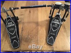 Tama Iron Cobra Double Bass Drum Kick Pedal USED