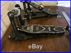 Tama Iron Cobra Double Bass Drum Pedal Excellent Condition Professional