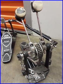 Tama Iron Cobra Double Bass Pedal Kick Drum Chain Drive Glide
