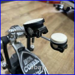 Tama Iron Cobra'Power Glide' Double Bass Drum Pedal With Case #645