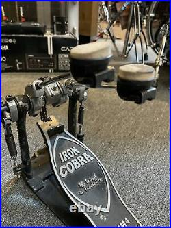Tama Iron Cobra Rolling Glide Double Bass Drum Pedal! #582
