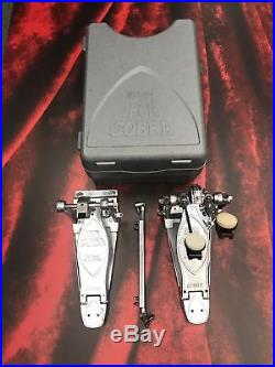 Tama Limited Edition Chrome Iron Cobra Double Bass Drum Pedal with Case