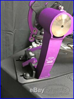 Trick Custom Shop Pro1-V Bigfoot Direct Drive Double Bass Drum Pedal with H&B Case