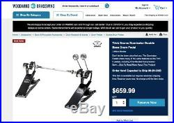 Trick Drums Dominator Double Bass Drum Pedal Direct Drive