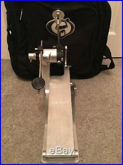 Trick Drums Pro1-V BigFoot Direct Drive Double Bass Drum Pedal & Case