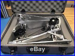 Trick Pro 1-V Bigfoot Double Bass Drum Pedals with Hard Case