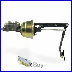 Universal adj FW 7 Dual Brake Pedal kit Drum/DrumSm Oval Blk Pad cylinder