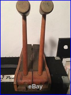 Vintage Double Bass Drum Pedal