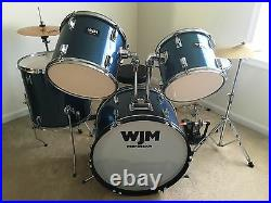 WJM Percussion drum kit with Gibraltar PDP Double Bass Pedal & Zildjian Hi-Hats