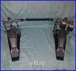 Yamaha DFP880 double bass drum pedal chain drive Excellent kick