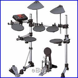 Yamaha DTXPLORER RS40 electronic drum set with Tama double bass pedals