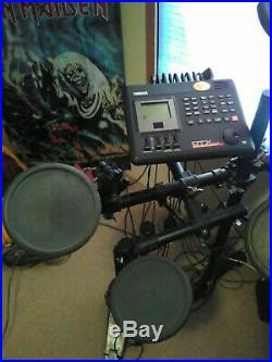 Yamaha DTX Electric Drum Set 2.0 double bass with high hat pedal with manual