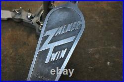 Zalmer Twin Double Bass Drum Pedal Vintage 1970's
